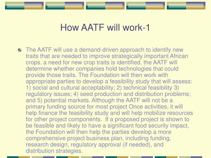 How AATF will work-1