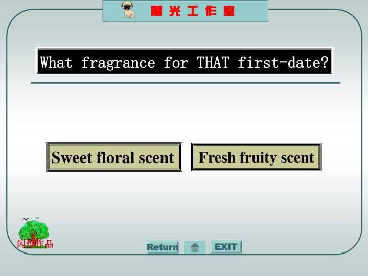 What fragrance for THAT first-date?