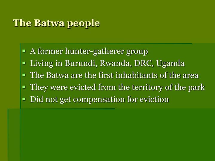 The Batwa