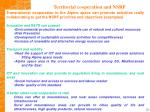 territorial cooperation and nsrf