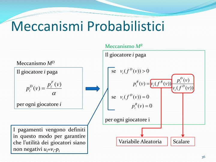 Meccanismi Probabilistici