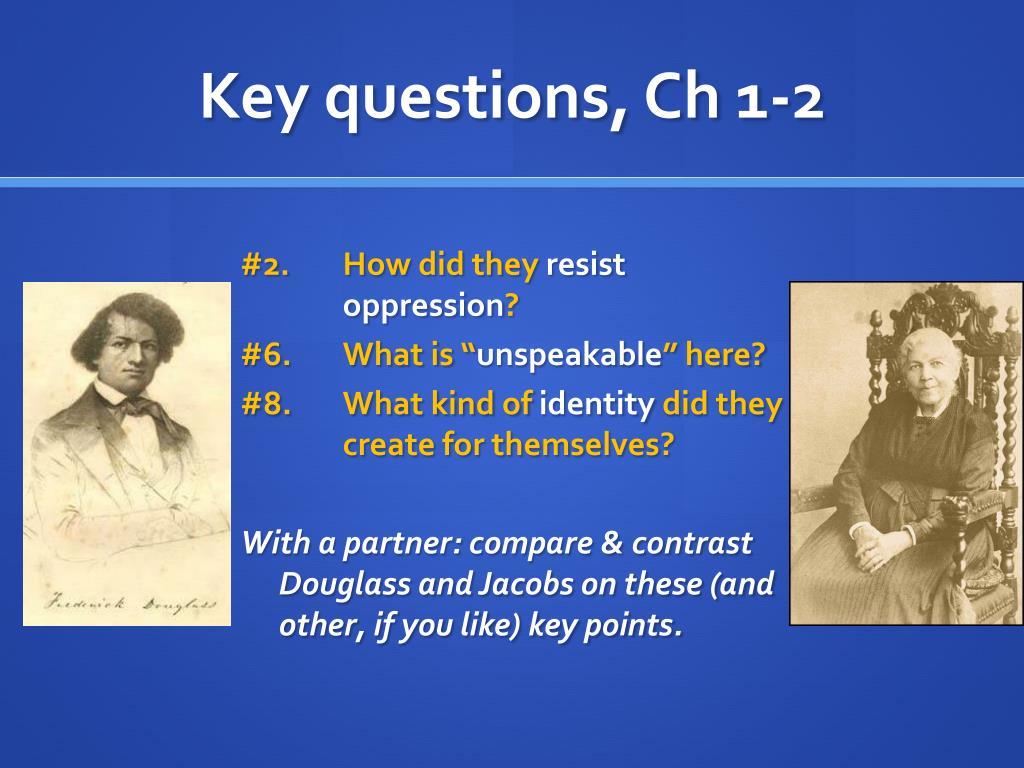 Key questions, Ch 1-2