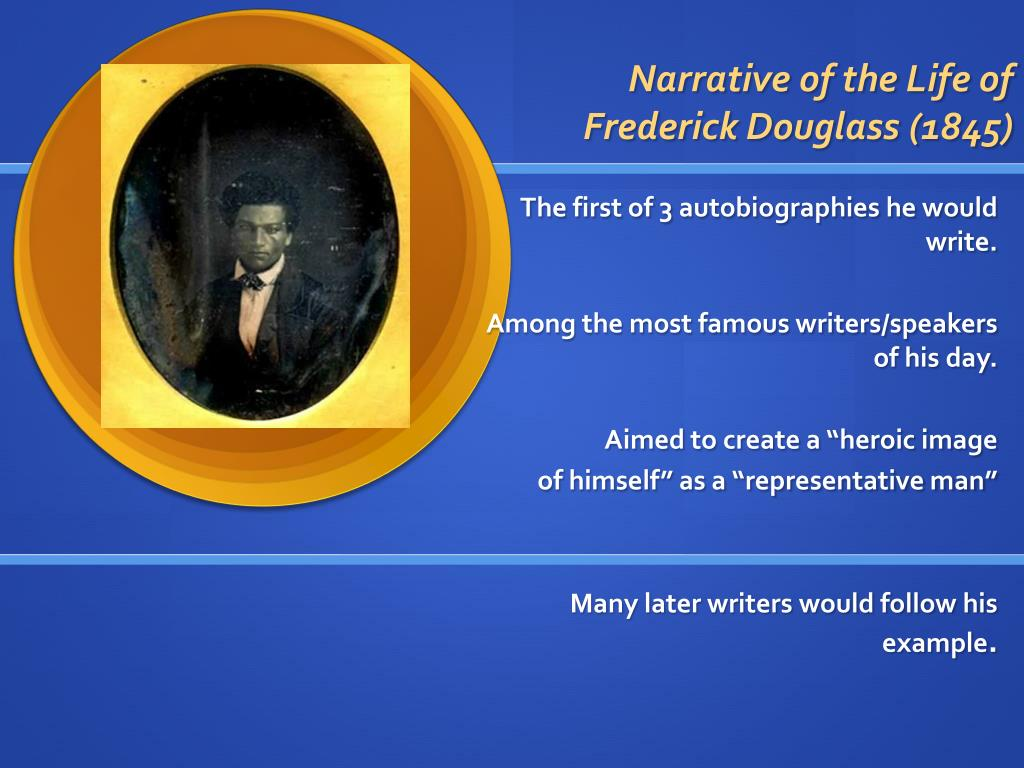 Narrative of the Life of Frederick Douglass (1845)