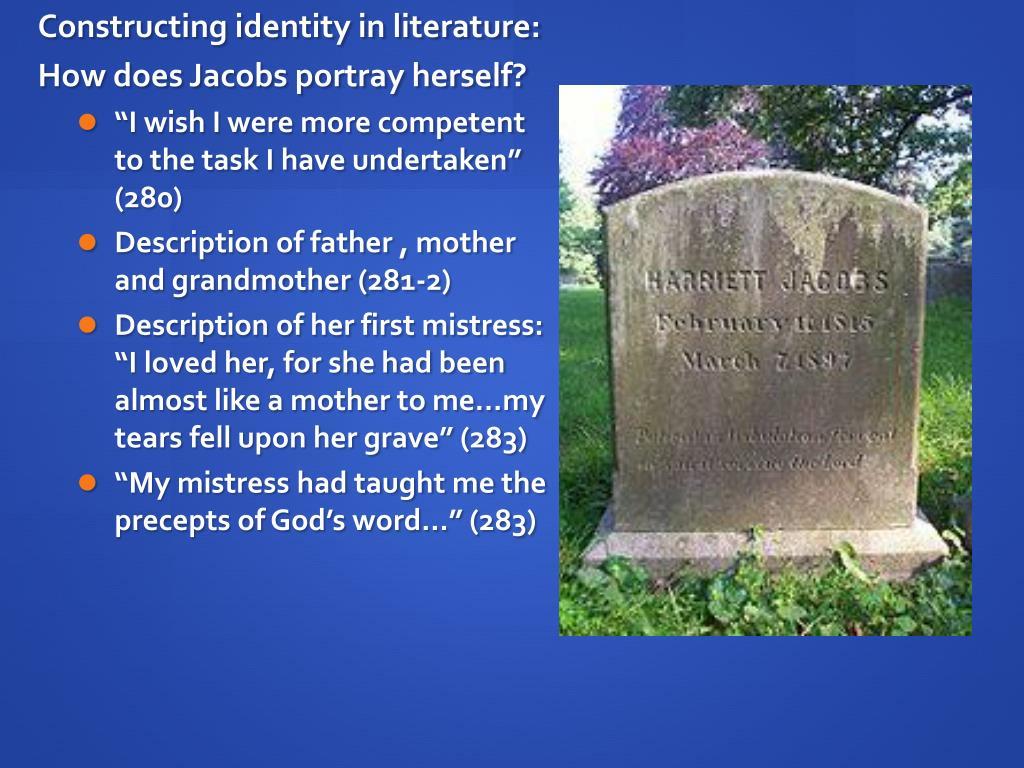Constructing identity in literature: