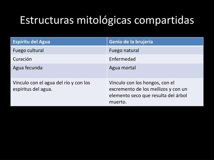 Estructuras mitológicas compartidas