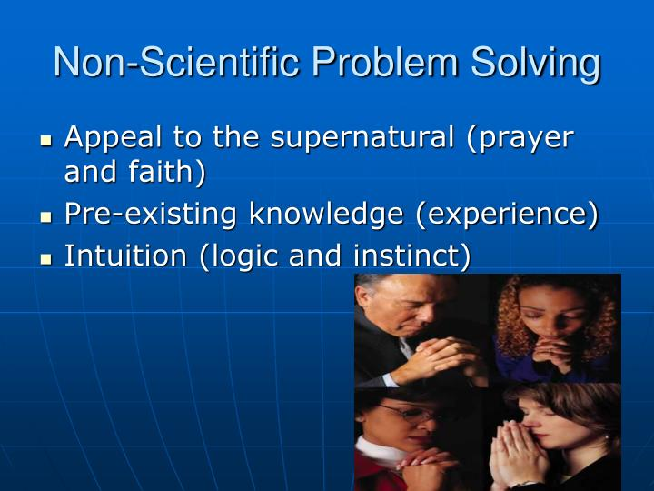 Non-Scientific Problem Solving
