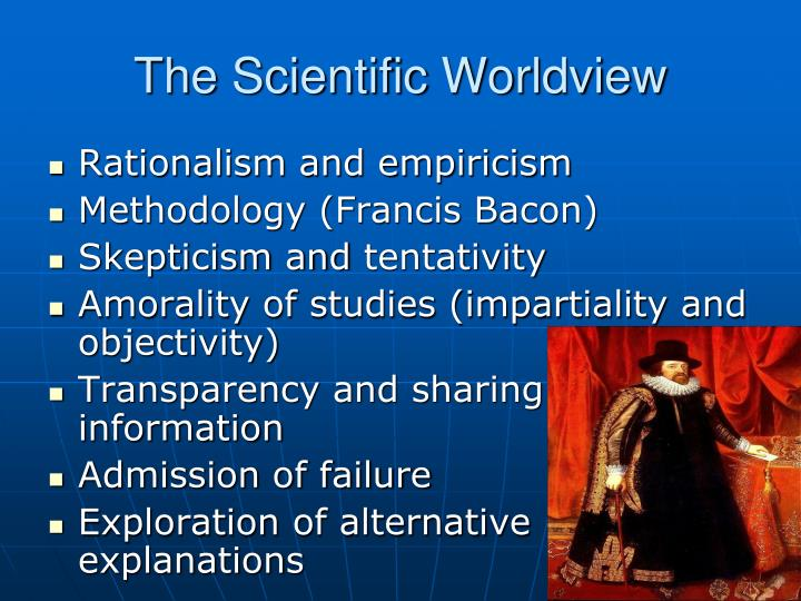 The scientific worldview