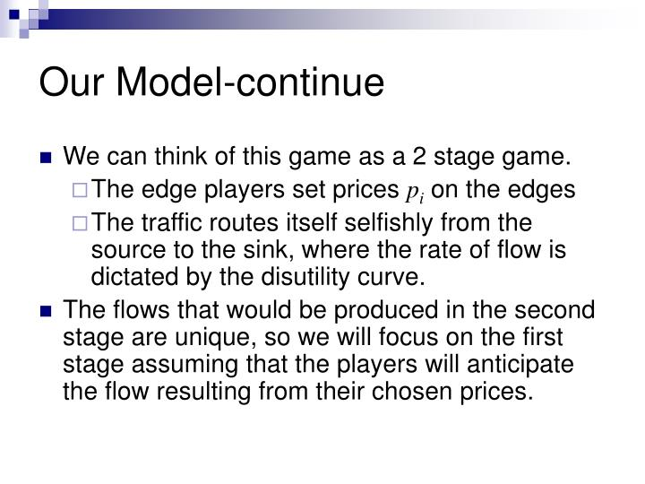 Our Model-continue
