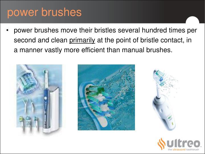 power brushes