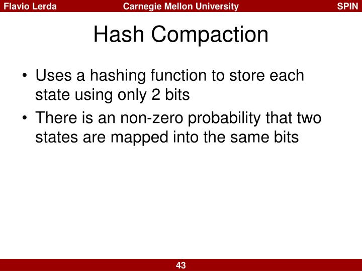 Hash Compaction