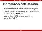minimized automata reduction2