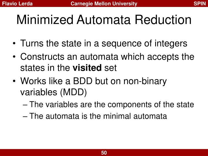 Minimized Automata Reduction
