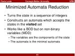 minimized automata reduction4