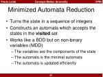 minimized automata reduction5