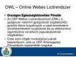 owl online webes licitrendszer