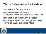 owl online webes licitrendszer1