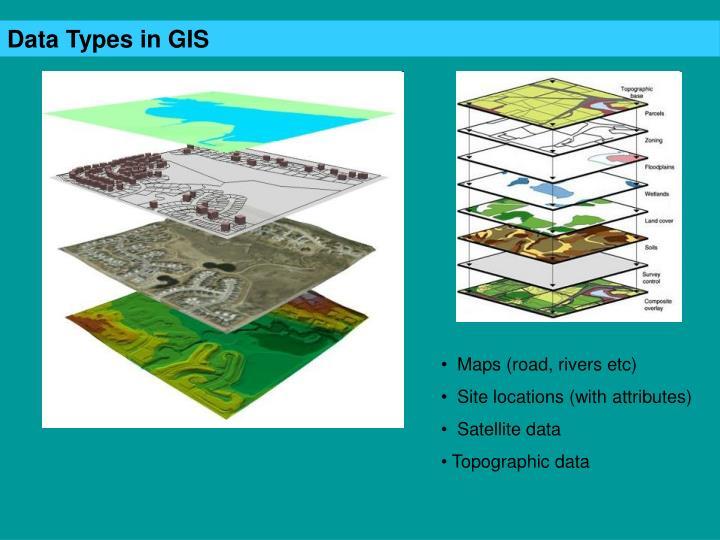 Data Types in GIS