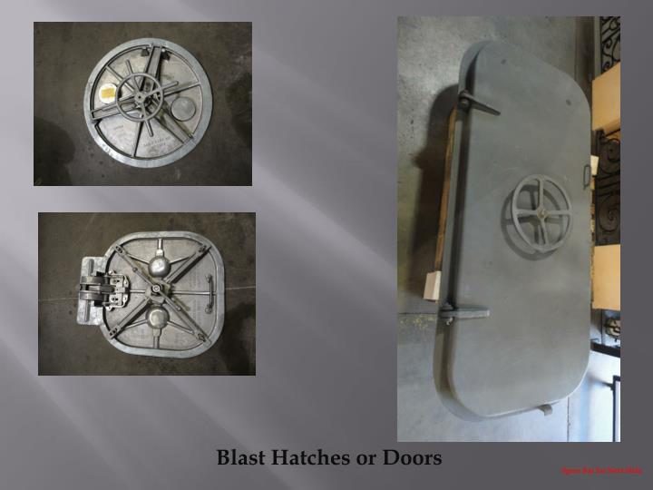 Blast Hatches or Doors