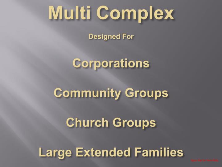 Multi Complex