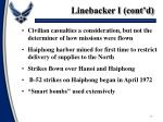 linebacker i cont d
