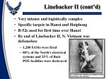 linebacker ii cont d
