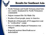 results for southeast asia