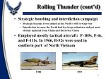 rolling thunder cont d