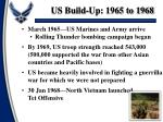 us build up 1965 to 1968