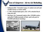 uses of airpower air to air refueling