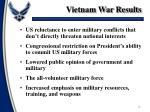 vietnam war results
