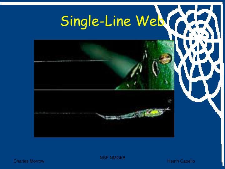 Single-Line Web