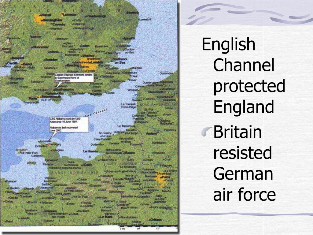 English Channel protected England