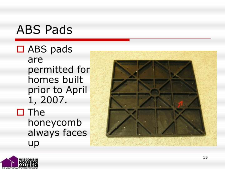 ABS Pads