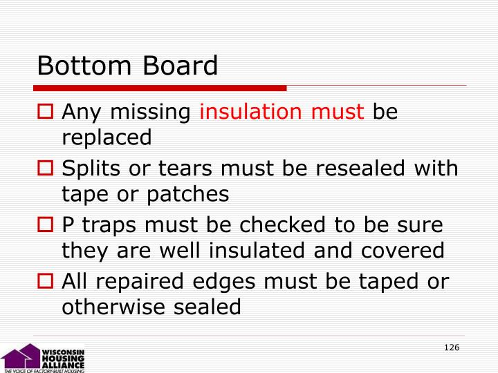 Bottom Board
