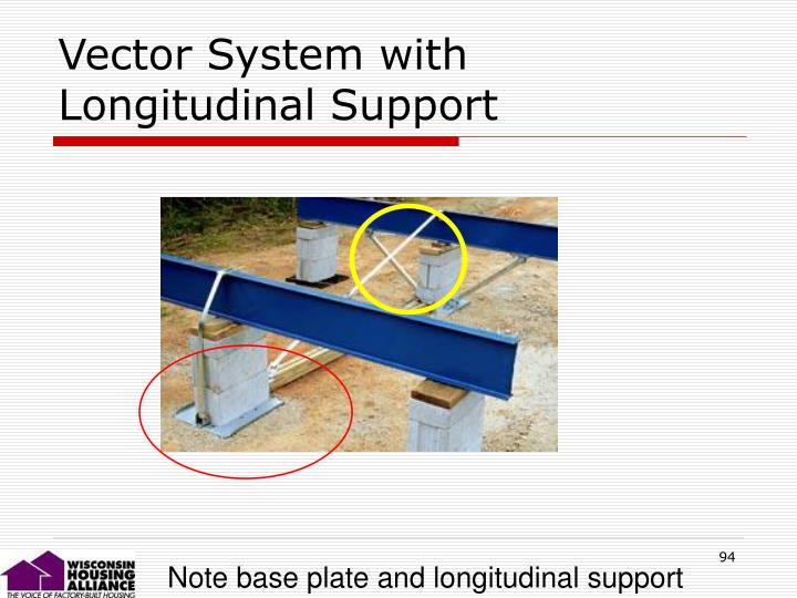 Vector System with Longitudinal Support