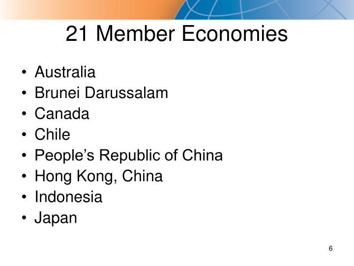 21 Member Economies