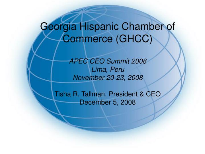 Georgia Hispanic Chamber of Commerce (GHCC)