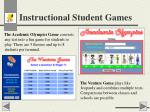 instructional student games