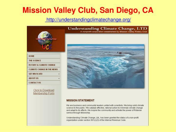 Mission Valley Club, San Diego, CA