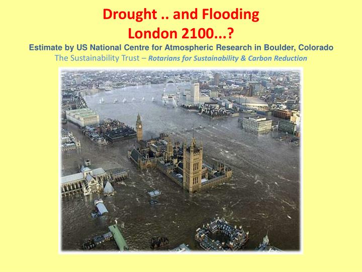 Drought .. and Flooding