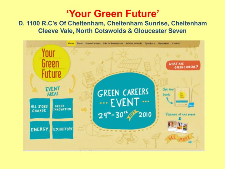 'Your Green Future'