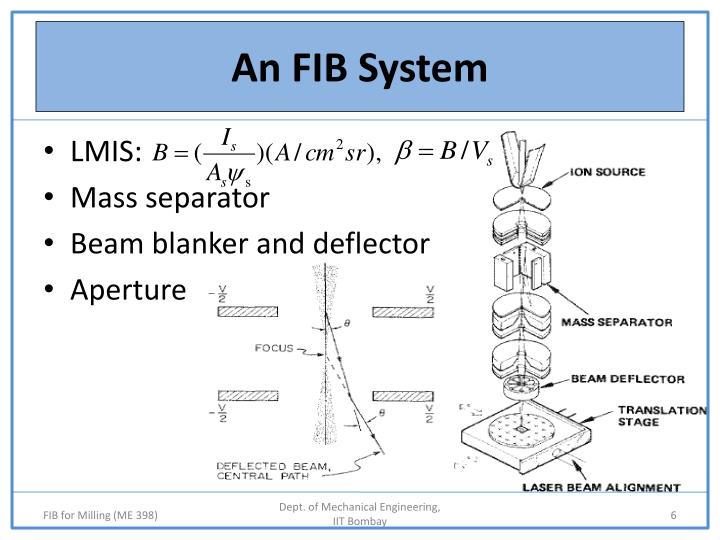 An FIB System