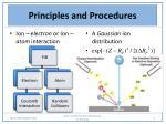 principles and procedures