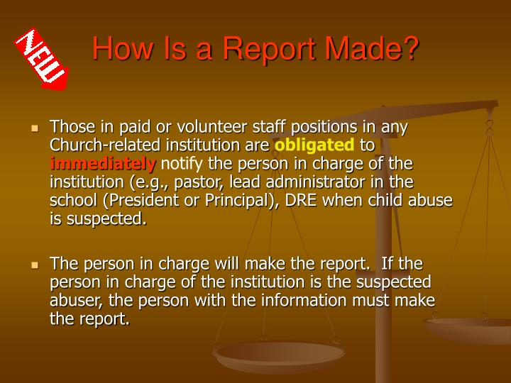 How Is a Report Made?