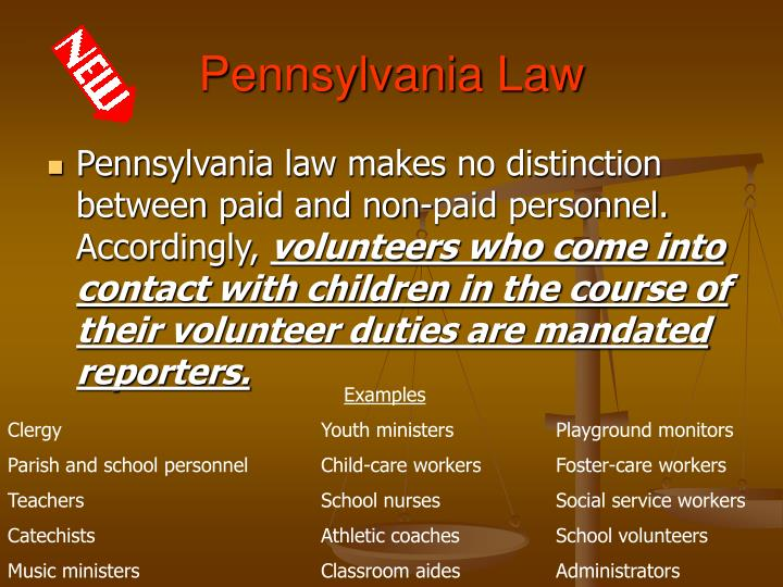 Pennsylvania Law