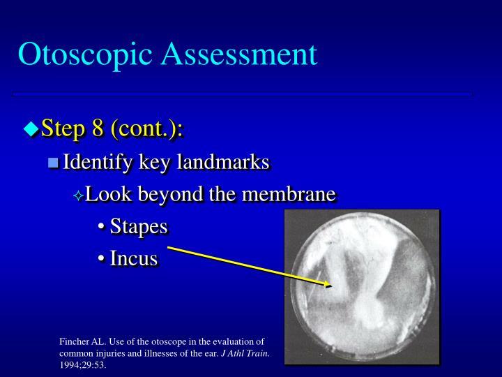 Otoscopic Assessment