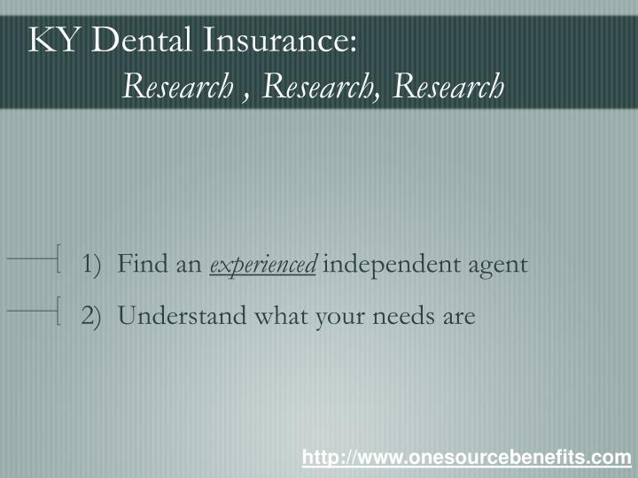 Ky dental insurance research research research