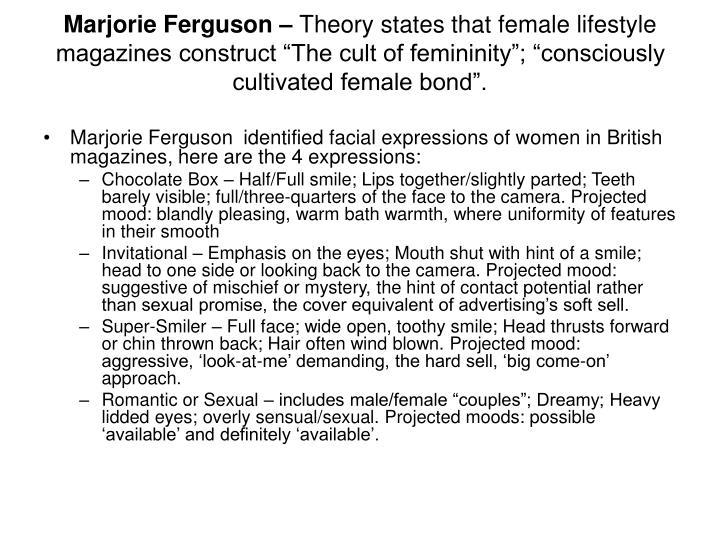 Marjorie Ferguson –