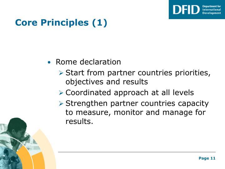 Core Principles (1)