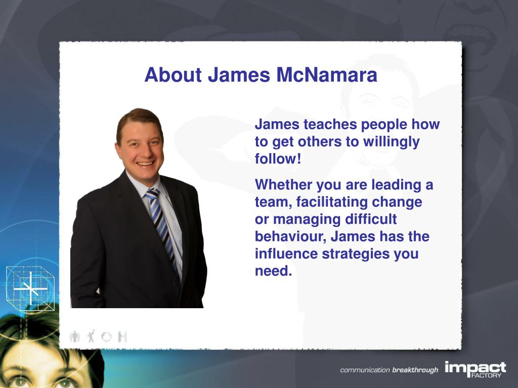 About James McNamara